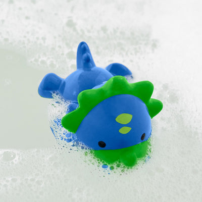 Skip Hop Zoo Light Up Bath Toy in Dino in the bath