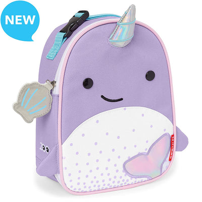 Skip Hop Zoo Lunchies Insulated Lunch Bag in Narwhal