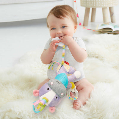 Baby playing with Skip Hop Banana Buddies Activity Animals in Unicon