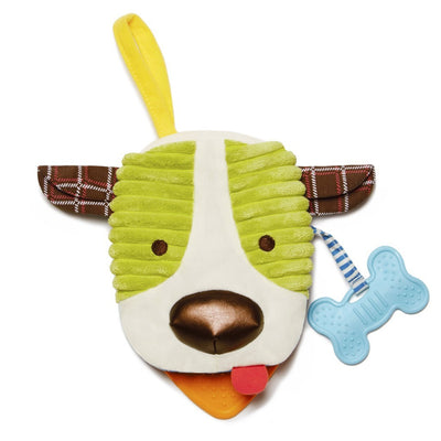 Skip Hop Banana Buddies Baby Dog Puppet Book