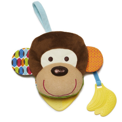 Skip Hop Banana Buddies Baby Monkey Puppet Book