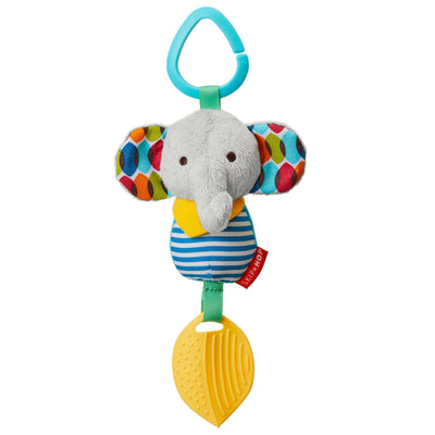 Skip Hop Banana Buddies Chime & Teethe Toy in Elephant