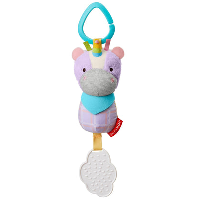 Skip Hop Banana Buddies Chime & Teethe Toy in Unicorn