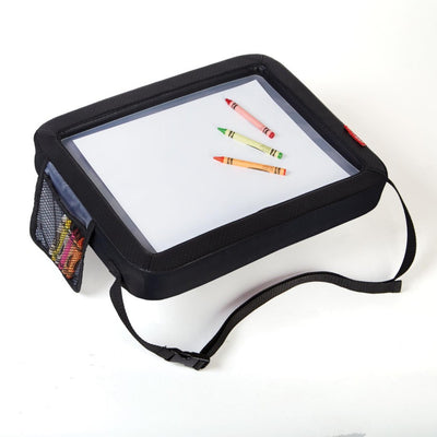 Skip Hop Style Driven Travel Activity Tray with crayons