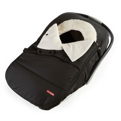 Skip Hop Stroll & Go Car Seat Cover in Grey Feather in Black