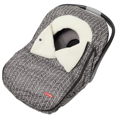 Skip Hop Stroll & Go Car Seat Cover in Grey Feather