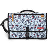 Skip Hop Pronto! Changing Station in Blue Rosebud Floral