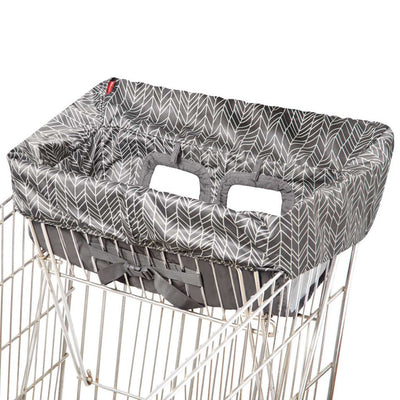 Skip Hop Take Cover Shopping Cart & High Chair Cover in Grey Feather