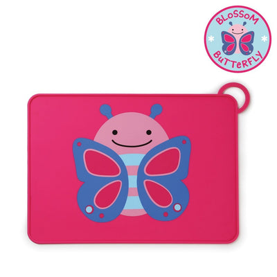 Skip Hop Zoo Fold & Go Silicone Placemat in Butterfly