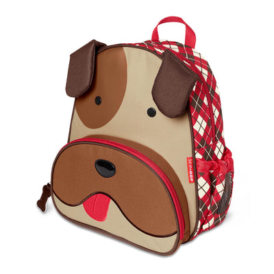 Skip Hop Winter Zoo Little Kid Backpack in Bulldog