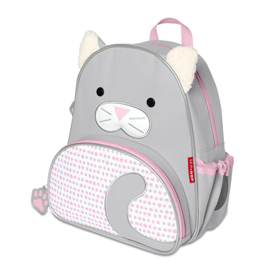 Skip Hop Winter Zoo Little Kid Backpack in Cat