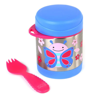 Skip Hop Zoo Insulated Food Jar in Butterfly