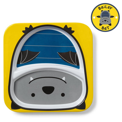 Skip Hop Zoo Tableware Melamine Plate in Bat