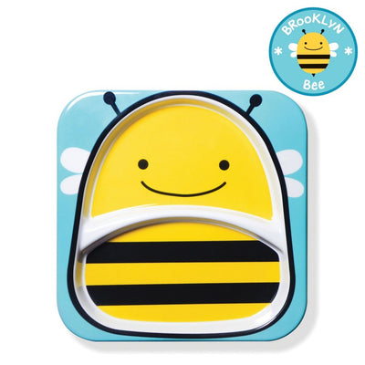 Skip Hop Zoo Tableware Melamine Plate in Bee