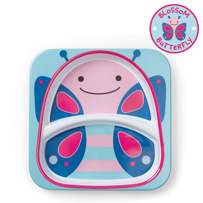Skip Hop Zoo Tableware Melamine Plate in Butterfly
