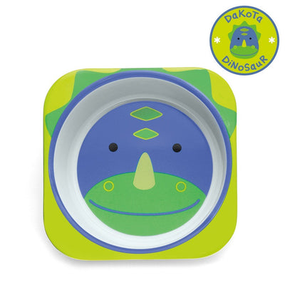 Skip Hop Zoo Tableware Melamine Bowl in Dinosaur