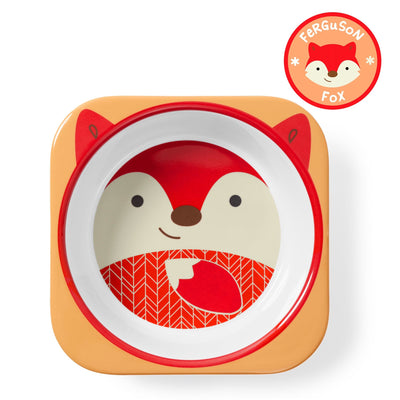 Skip Hop Zoo Tableware Melamine Bowl in Fox