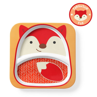 Skip Hop Zoo Tableware Melamine Plate in Fox