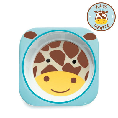 Skip Hop Zoo Tableware Melamine Bowl in Giraffe