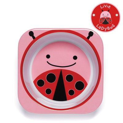 Skip Hop Zoo Tableware Melamine Bowl in Ladybug