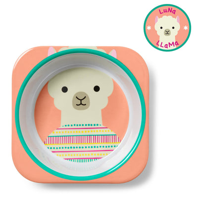 Skip Hop Zoo Tableware Melamine Bowl in Llama
