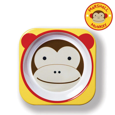 Skip Hop Zoo Tableware Melamine Bowl in Monkey