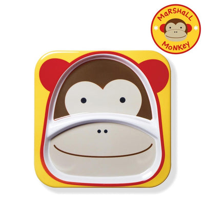 Skip Hop Zoo Tableware Melamine Plate in Monkey