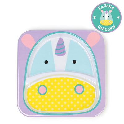 Skip Hop Zoo Tableware Melamine Plate in Unicorn