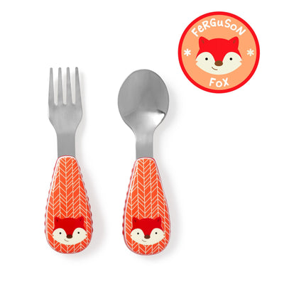 Skip Hop Zootensils Fork & Spoon in fox