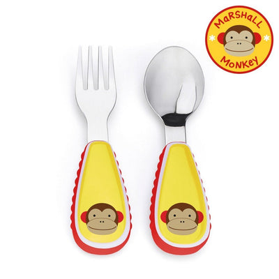 Skip Hop Zootensils Fork & Spoon in Monkey