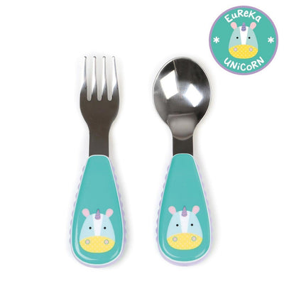 Skip Hop Zootensils Fork & Spoon in Unicorn