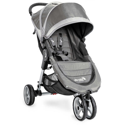Baby Jogger City Mini® Stroller in Steel and Gray