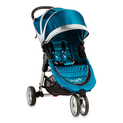 Baby Jogger City Mini® Stroller in Teal and grey