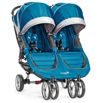 Baby Jogger City Mini® Double Stroller in Teal/Gray