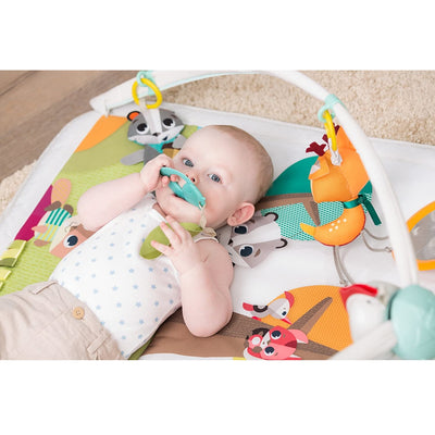 Baby playing with Tiny Love Into the Forest™ Gymini® Deluxe
