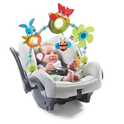 Tiny Love Meadow Days™ Sunny Stroller Arch attached to infant car seat
