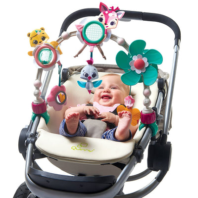 Tiny Love Tiny Princess Tales™ Sunny Stroller Arch attached to stroller