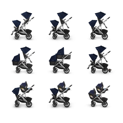 UPPAbaby VISTA Stroller multiple configurations