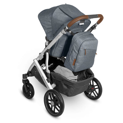 UPPAbaby Changing Backpack in Gregory on Vista stroller