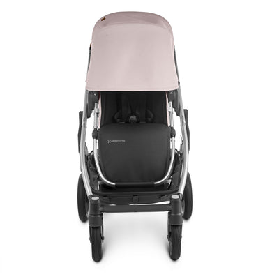 UPPAbaby CRUZ V2 2020 Stroller in Alice front view with canopy extended