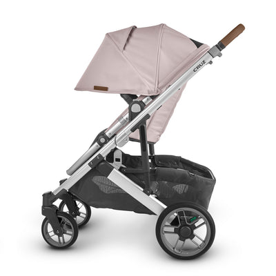 UPPAbaby CRUZ V2 2020 Stroller in Alice side view with canopy extended