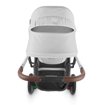 UPPAbaby CRUZ V2 2020 Stroller in Bryce with ventilation in canopy open