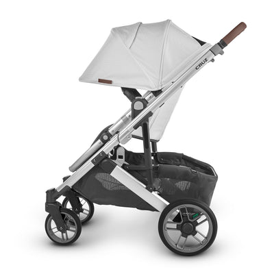 UPPAbaby CRUZ V2 2020 Stroller in Bryce side view with canopy extended