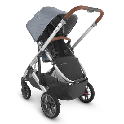 UPPAbaby CRUZ V2 2020 Stroller in Gregory with seat reversed