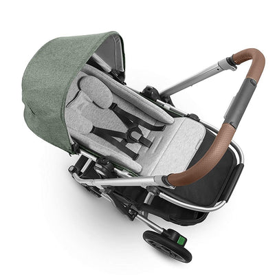 UPPAbaby Infant SnugSeat reversed to plush side