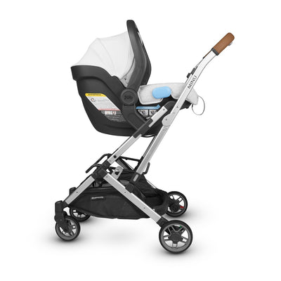 UPPAbaby MESA 2019 Infant Car Seat in Bryce on the Minu stroller