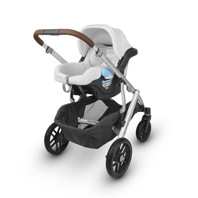 UPPAbaby MESA 2019 Infant Car Seat in Bryce on the Vista stroller