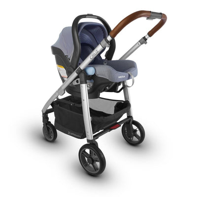UPPAbaby MESA 2018 Infant Car Seat in Henry on Cruz Stroller