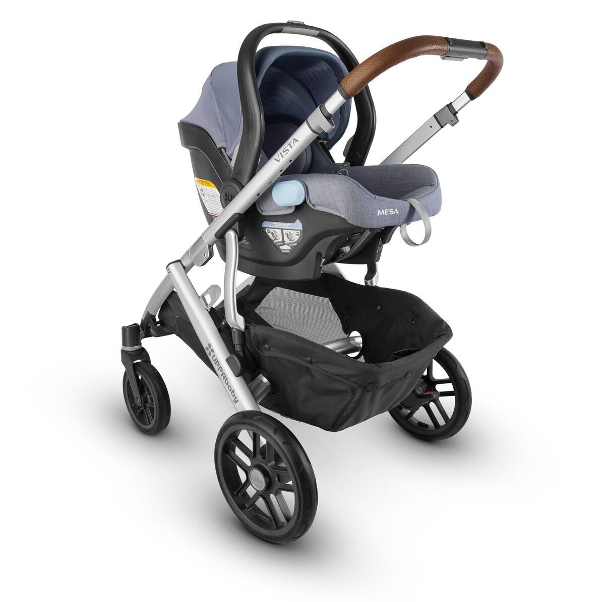 UPPAbaby MESA 2018 Infant Car Seat In Henry On Vista Stroller