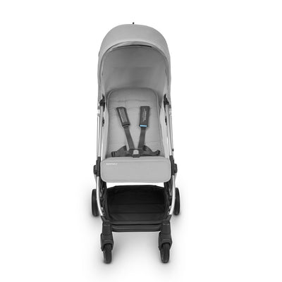 UPPAbaby MINU Stroller in Devin with seat reclined